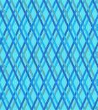 Blue checked pattern, seamless vector background. Blue checked texture, seamless vector background Royalty Free Stock Photography