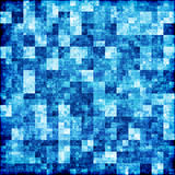 Blue checkered abstract background Royalty Free Stock Images