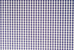 Blue checkered background Stock Photo
