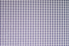 Blue checkered background Stock Images