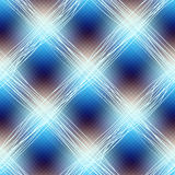 Blue checkered diagonal. Stock Image