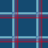 Blue checkered seamless pattern Royalty Free Stock Photos