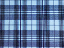 Blue checks background. With stripes Stock Photo