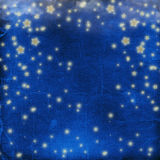 Blue cheerful background with  stars Stock Image