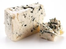 Blue cheese. Royalty Free Stock Images