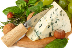 Blue cheese. Stock Images