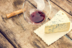 Blue cheese background. Royalty Free Stock Images