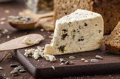 Blue cheese delicious cheese Royalty Free Stock Photography