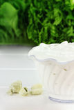 Blue Cheese Dressing stock images