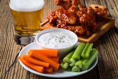 Blue cheese dressing Stock Photography