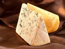 Blue cheese and Gouda Stock Image