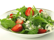 Blue cheese salad Royalty Free Stock Image