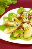 Blue-cheese salad with apple Royalty Free Stock Photo