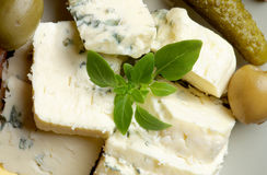 Blue Cheese Royalty Free Stock Photos