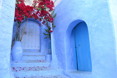 Blue Chefchaouen Stock Image