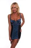 Blue chemise Royalty Free Stock Images