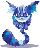 Cheshire cat on a white background, Alice in Wonderland, . royalty free illustration