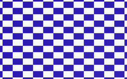 Blue chessboard texture background. And racing team concept Stock Photos