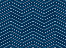 Blue chevrion sashiko pattern background in zigzag style. Blue chevron sashiko pattern background in zigzag style illustration Royalty Free Stock Photography