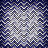 Blue chevron design Stock Photos