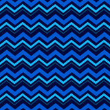 Blue Chevron Pattern Royalty Free Stock Photo