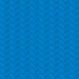 Blue Chevron Pattern. Stock Photo