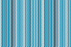 Blue chevrons seamless pattern background retro vintage design Royalty Free Stock Images