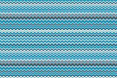 Blue chevrons seamless pattern background retro vintage design Royalty Free Stock Photos