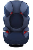 Blue child car seat Royalty Free Stock Photos