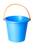 Blue children bucket isolated . Blue children bucket isolated on a white background Stock Images