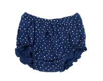 Blue children`s pants Royalty Free Stock Photo