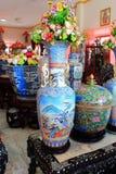 Blue Chinese porcelain Stock Photo