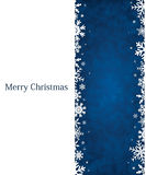 Blue Chirstmas background Royalty Free Stock Images