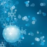 Blue Christmas stock illustration