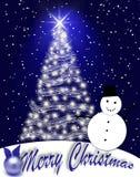 Blue Christmas. Stock Photos