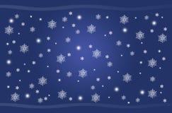 Blue Christmas Stock Image
