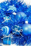 Blue Christmas Royalty Free Stock Image