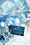 Blue christmas Royalty Free Stock Photos