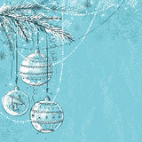 Blue christmas background,  Stock Images
