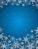 Blue christmas background,  Stock Photos