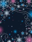 Blue christmas background,  Royalty Free Stock Photography