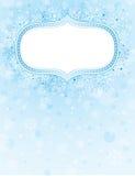 Blue christmas background,  Royalty Free Stock Image