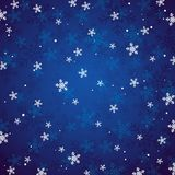 Blue christmas background,  Royalty Free Stock Photos