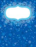 Blue christmas background,  Stock Photography
