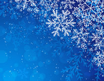 Blue christmas background,  Royalty Free Stock Photo