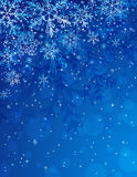 Blue christmas background,  Stock Photos