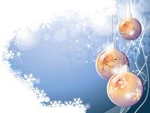 Blue christmas background. For design Stock Image