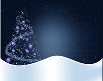 Blue christmas background royalty free stock photo