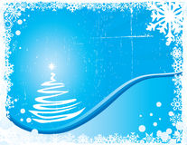 Blue Christmas Background Royalty Free Stock Photos