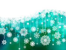 Blue christmas background with copy space. EPS 8 Royalty Free Stock Photos